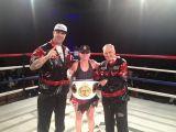 Michelle Nelson former Women's Bantamweight Champion