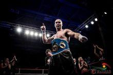 New C.P.B.C. Cruiser-weight Champion Rob Nichols