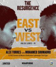 C.P.B.C. East vs West Unification Lightweight Title Fight